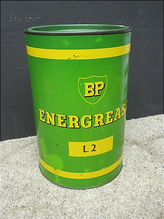 B.P. GALLON ENERGREASE - click to enlarge