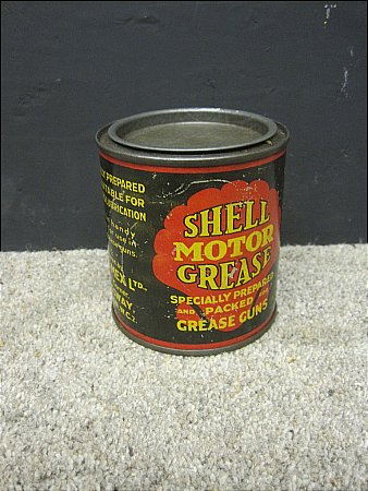 SHELL MOTOR GREASE - click to enlarge