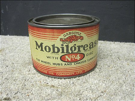 MOBIL No.4 GREASE - click to enlarge