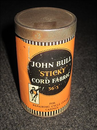 JOHN BULL FABRIC PATCH - click to enlarge