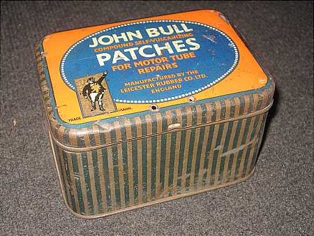 JOHN BULL STICKY PATCHES - click to enlarge