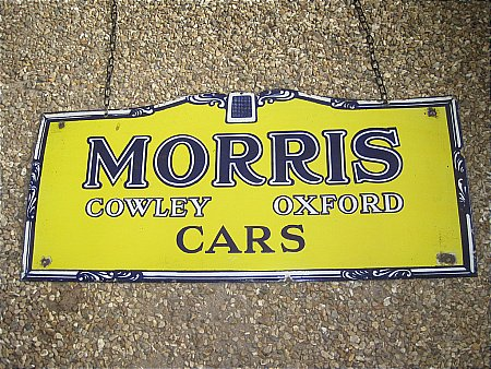 MORRIS CARS - click to enlarge