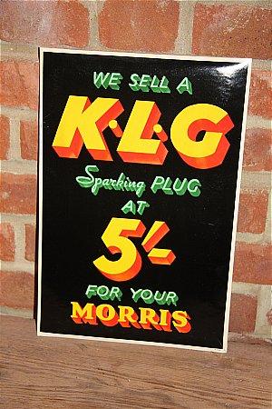 K.L.G. PLUGS MORRIS - click to enlarge