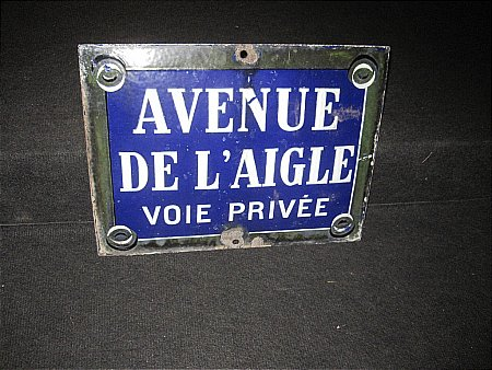 FRENCH STREET SIGN - click to enlarge