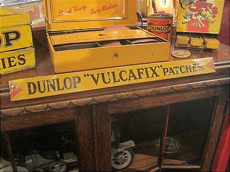 "DUNLOP ""VULCAFIX"" SHELF EDGE - click to enlarge"