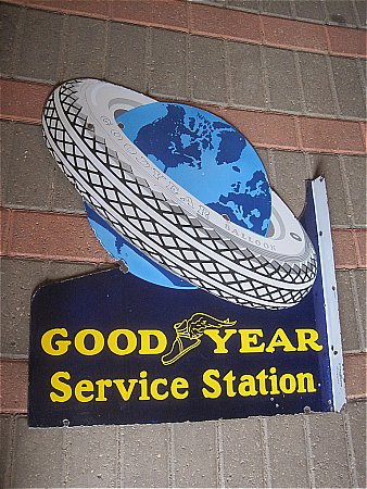 "GOODYEAR TYRES ""AROUND THE WORLD"" - click to enlarge"