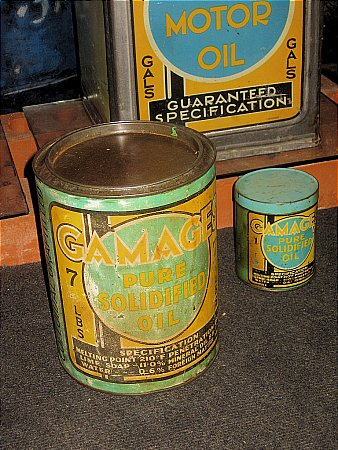GAMAGES 7lb GREASE TIN - click to enlarge