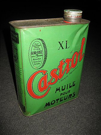 CASTROL XL (Half Gallon) FRENCH - click to enlarge