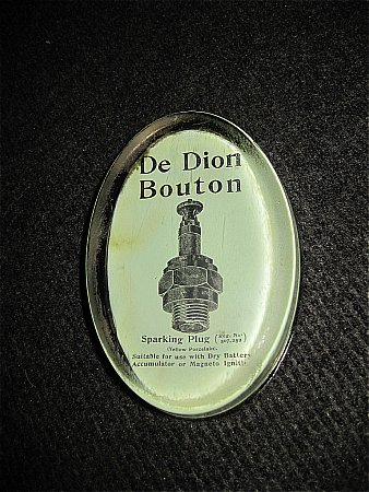 DE DION PLUG PAPERWEIGHT - click to enlarge