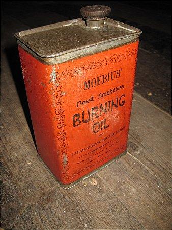 MOEBIUS BURNING OIL. - click to enlarge