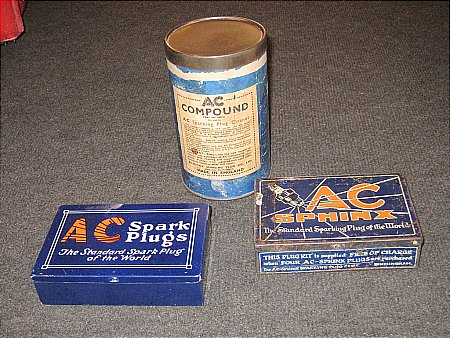 A.C. PLUGS TINS - click to enlarge