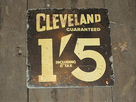 CLEVELAND PRICE SIGN - click to enlarge