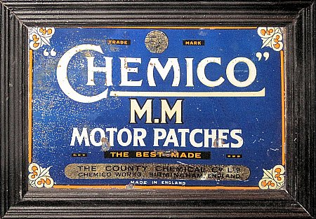 CHEMICO GARAGE REPAIR KIT LID. - click to enlarge