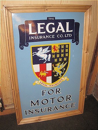 LEGAL MOTOR INSURANCE - click to enlarge