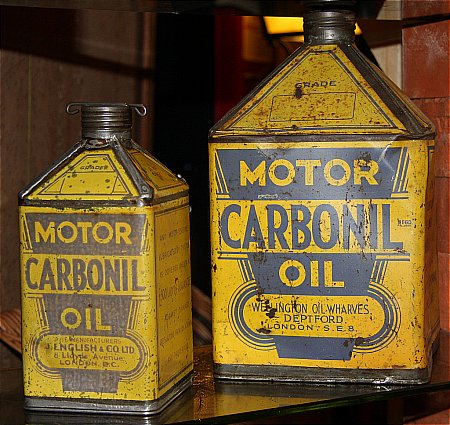 CARBONIL QUART OIL CAN. - click to enlarge
