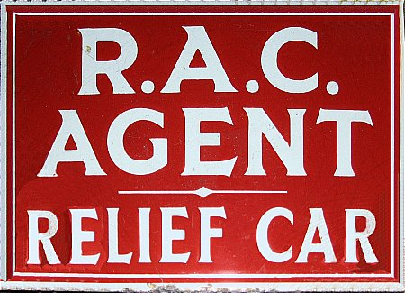 R.A.C. AGENT(RELEIF CAR) Small - click to enlarge