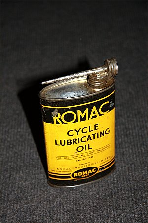 ROMAC CYCLE OIL - click to enlarge