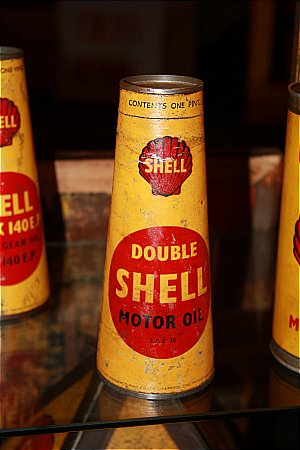 SHELL DOUBLE OIL CONE - click to enlarge