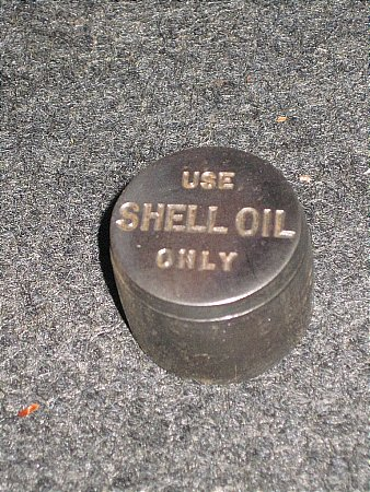SHELL STEEL PAPERWEIGHT - click to enlarge