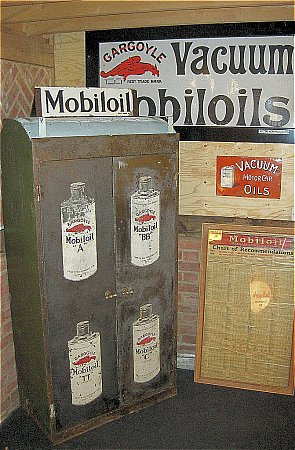 MOBIL OIL CABINET - click to enlarge