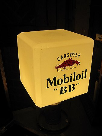 "MOBIL ""BB"" OIL GLOBE - click to enlarge"
