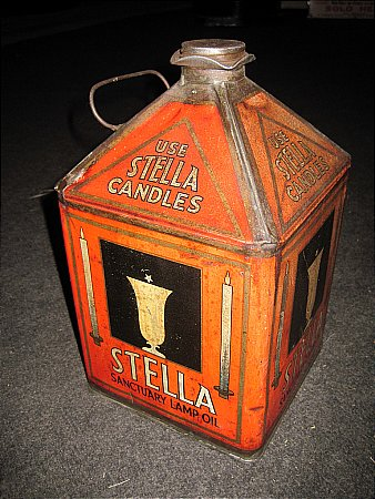 STELLA GALLON LAMP OIL - click to enlarge