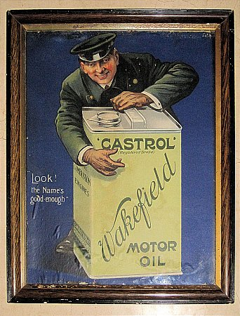 CASTROL WAKEFIELD POSTER - click to enlarge