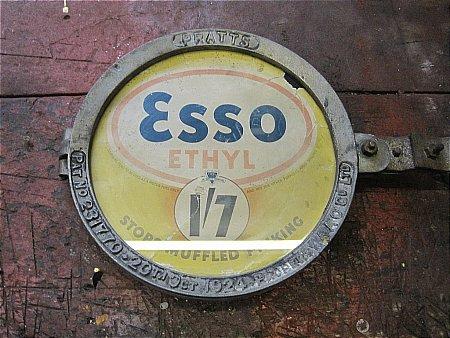ESSO ETHYL PRICE HOLDER - click to enlarge