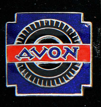Enamel Badge. AVON - click to enlarge