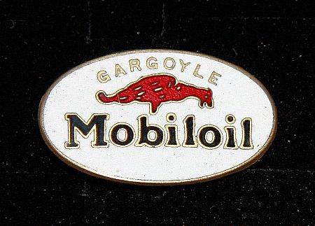 Enamel Badge. MOBIL - click to enlarge