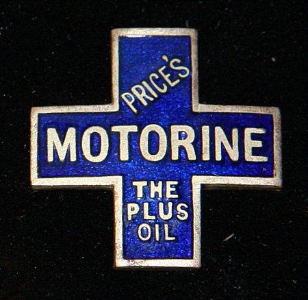 Enamel Badge. PRICES MOTORINE - click to enlarge