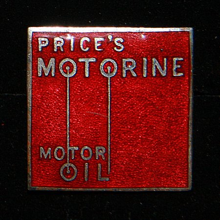 Enamel Badge. PRICES MOTORINE - click to enlarge
