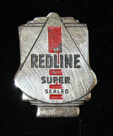 Enamel Badge. REDLINE SUPER - click to enlarge