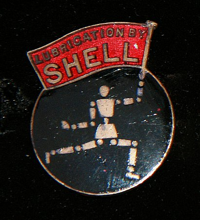 Enamel Badge. SHELL - click to enlarge