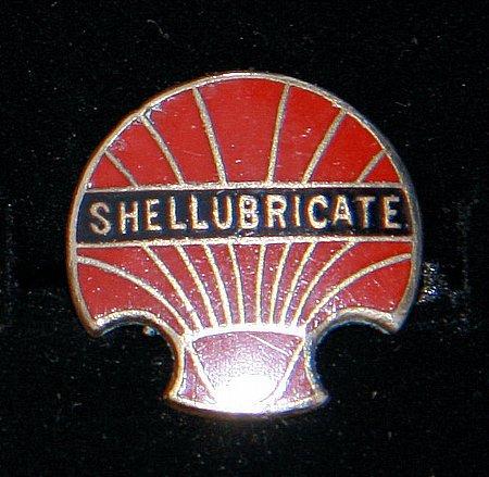 Enamel Badge. SHELLUBRICATE - click to enlarge