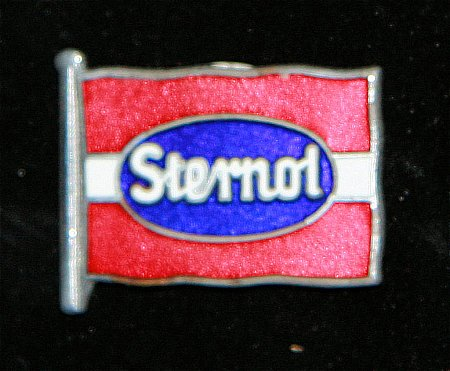 Enamel Badge. STERNOL - click to enlarge