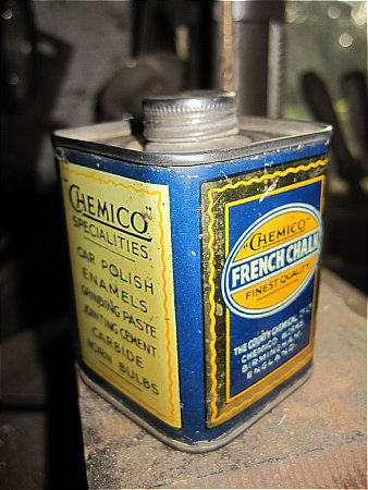 CHEMICO FRENCH CHALK. - click to enlarge