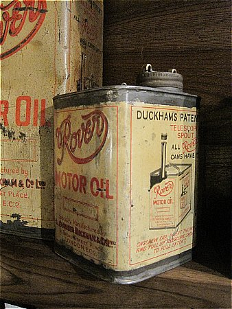 ROVER MOTOR OIL by DUCKHAMS - click to enlarge