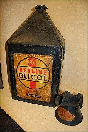 GLICO REDLINE 5 GALLON CAN - click to enlarge