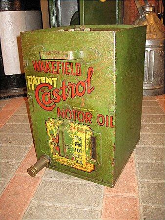 CASTROL BULK OIL CABINET - click to enlarge
