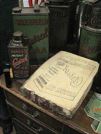CASTROL PRINTING BLOCK - click to enlarge