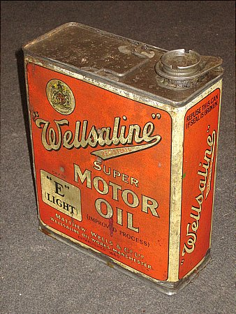 WELLSALINE HALF GALLON CAN - click to enlarge