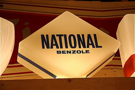 NATIONAL BENZOLE DIAMOND GLOBE - click to enlarge