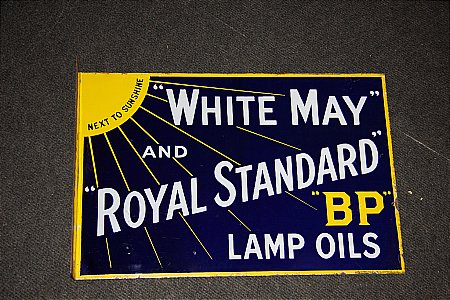 WHITE & MAY LAMP OIL - click to enlarge