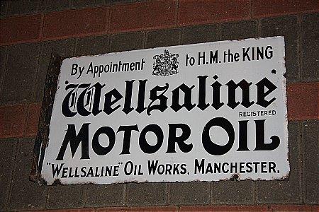 WELLSALINE MOTOR OIL - click to enlarge