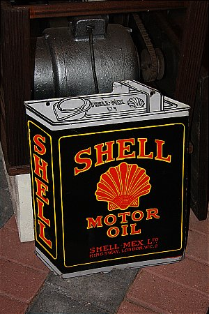 SHELL OIL DOUBLE - click to enlarge