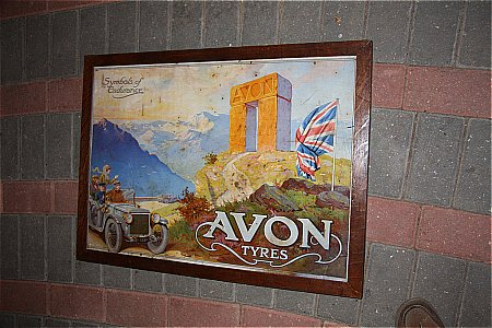 AVON TYRES POSTER - click to enlarge