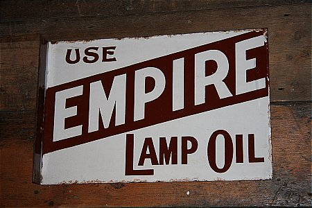 EMPIRE LAMP OIL - click to enlarge
