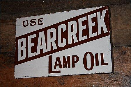 BEARCREEK LAMP OIL - click to enlarge