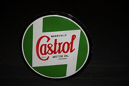 "CASTROL WAKEFIELD 24"" SIGN - click to enlarge"